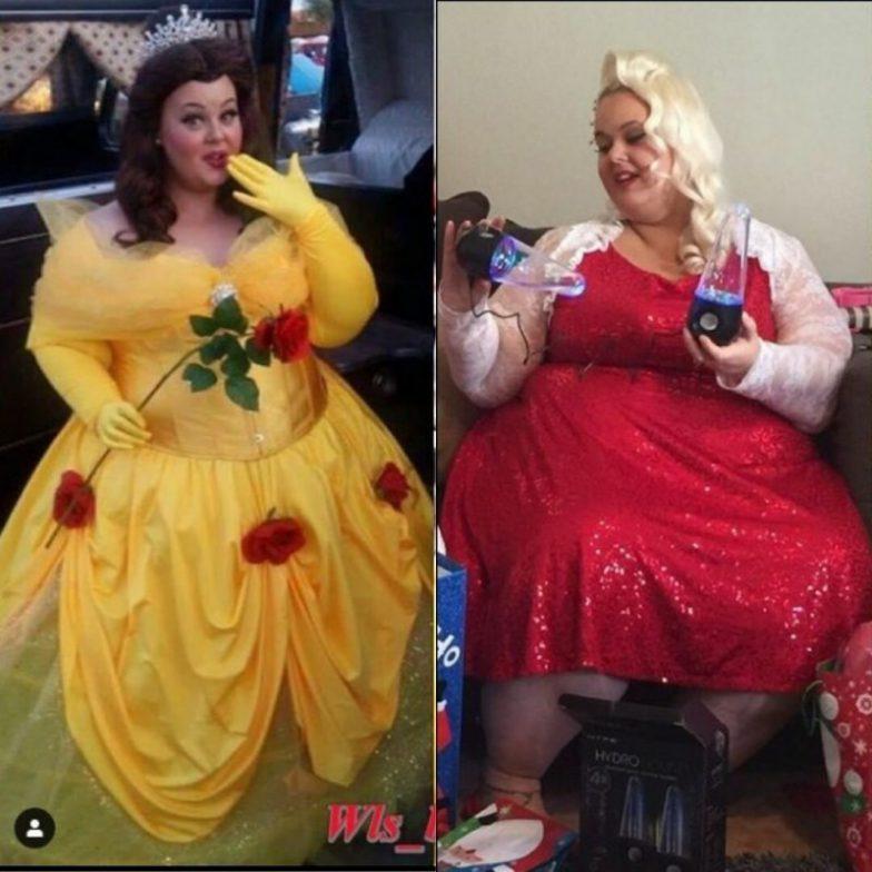 ты изменилась похудев и даже выглядишь