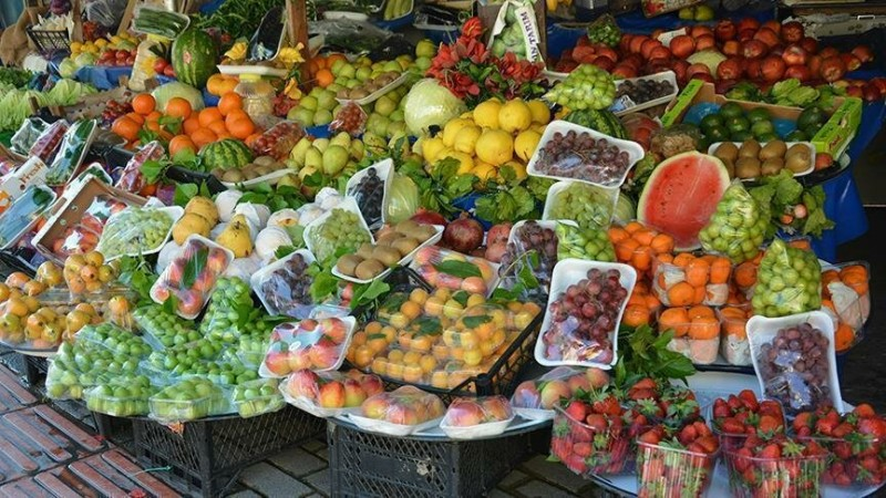 Турецкая фруктовая лавка