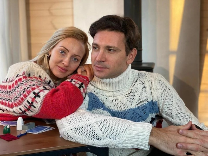 Елена Хабарова и Антон Хабаров