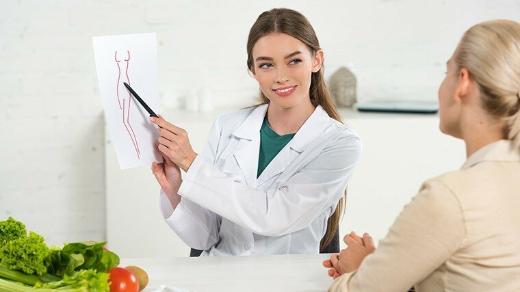 Составить правильный рацион питания можно при помощи специалистов.