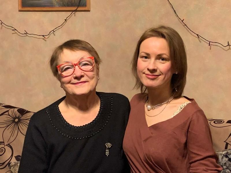 Ирина и Яна. - 65 кг на двоих. Фото предоставлено Яной Вельми.