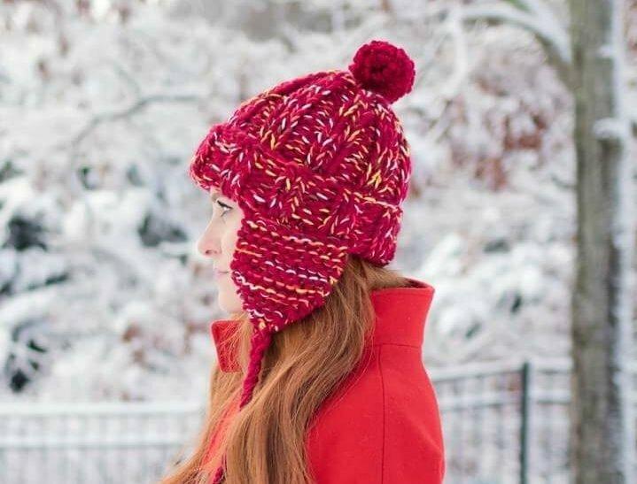 Женская шапка за 1 час описание вязания