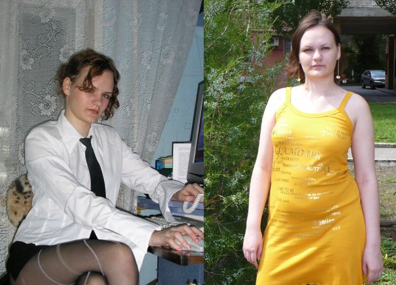 Из личного архива автора. Слева 18 лет, справа 23 года.