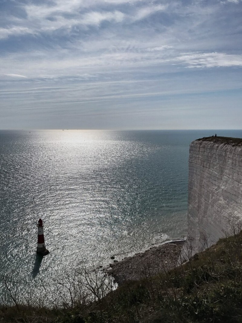 То же место с видом на маяк