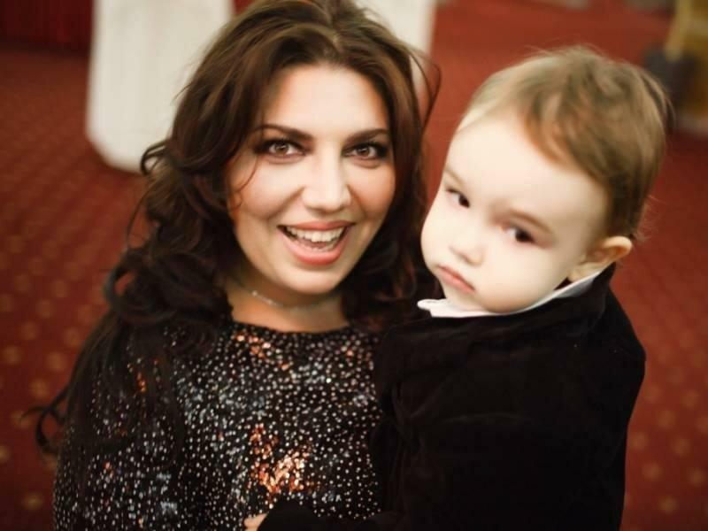 Екатерина с сыночком