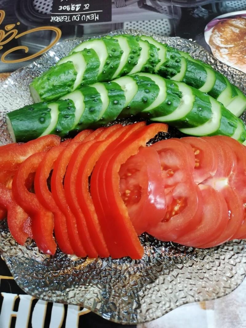 Овощи на ужин!