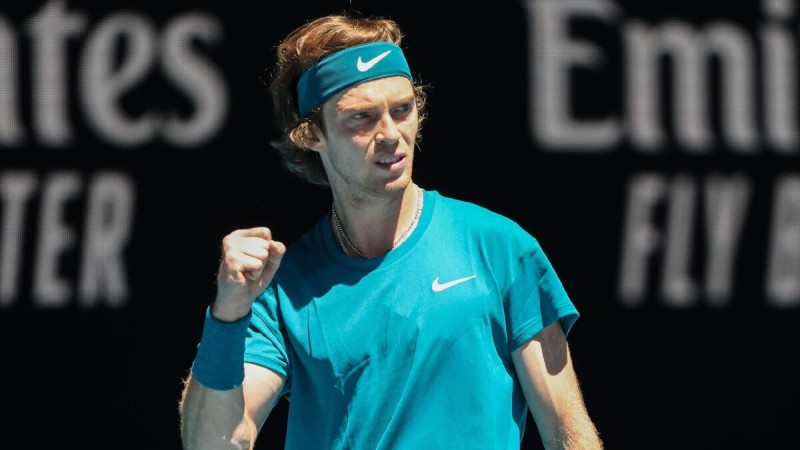 Андрей Рублев, Australian Open-2021 Фото: Getty Images