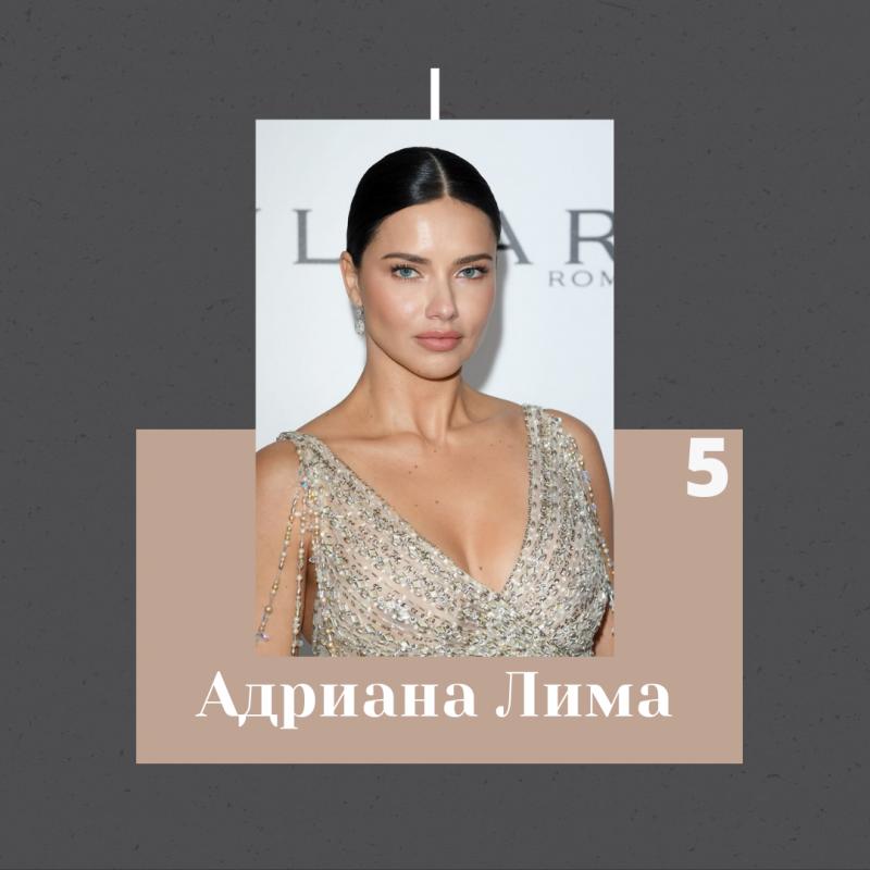 Адриана Лима – известная бразильская супермодель, а также многие ее знают как одну из ангелов Victoria's Secret