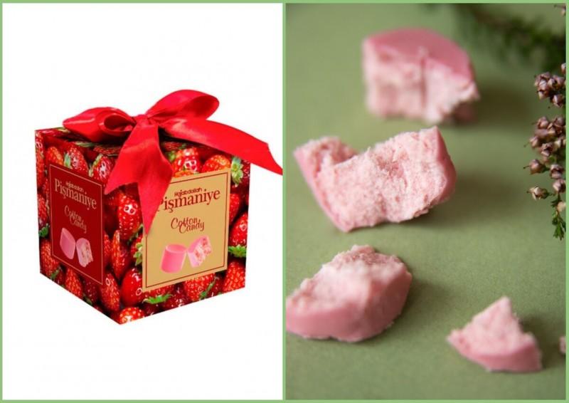 Клубничное пишмание в розовой глазури — воздушные конфеты для влюблённых. В сладости и в друг друга:)