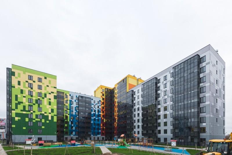 Двухкомнатная квартира в шведском квартале «IQ Гатчина»                                      Источник: https://vk.com/iq_gtn