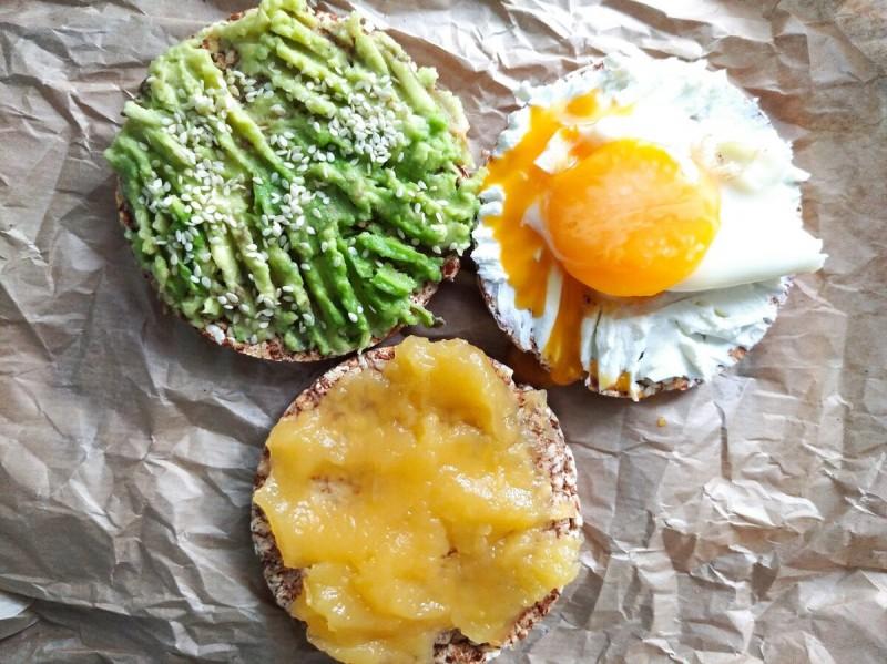 Завтрак: бутерброды
