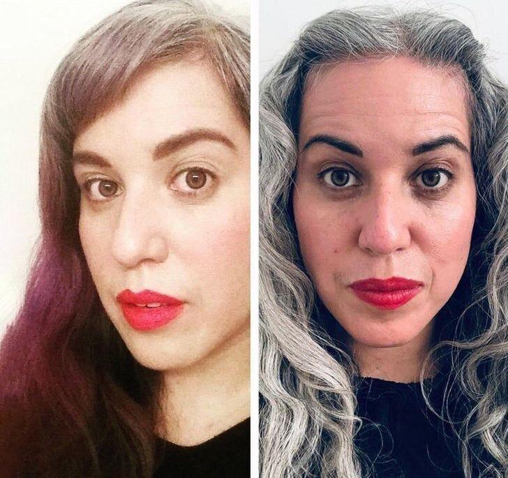 Женщины, которые решили не прятать свои седые волосы. Фотоподборка