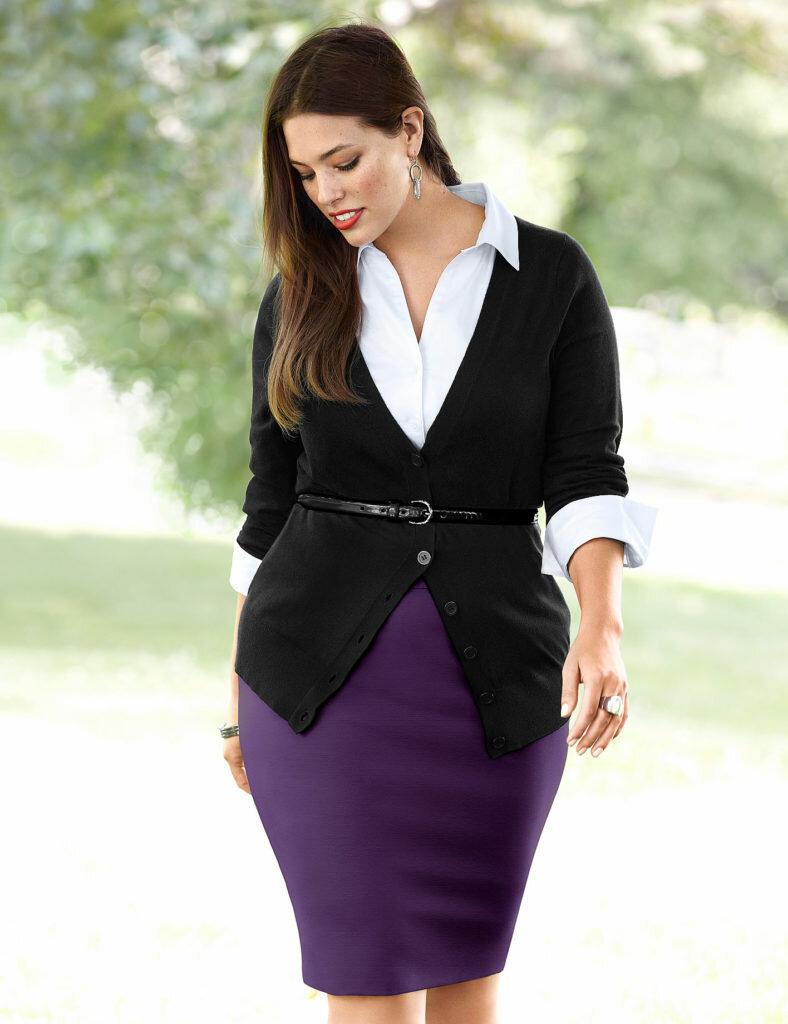 Пышные женщины,и как им одеваться.