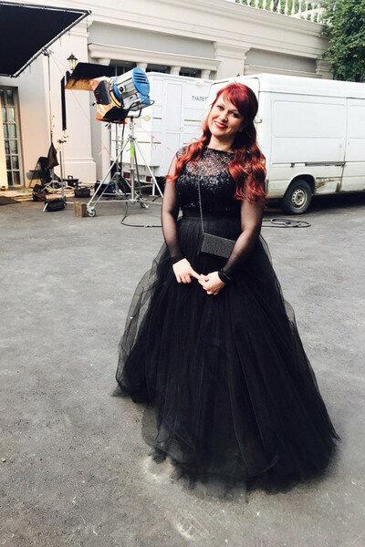 После похудения Картункова обновила гардероб