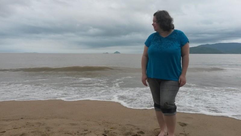 Я до похудения на большой вес шесть лет назад. Фото автора.