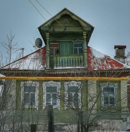 Дом с балконом - мечта каждой женщины