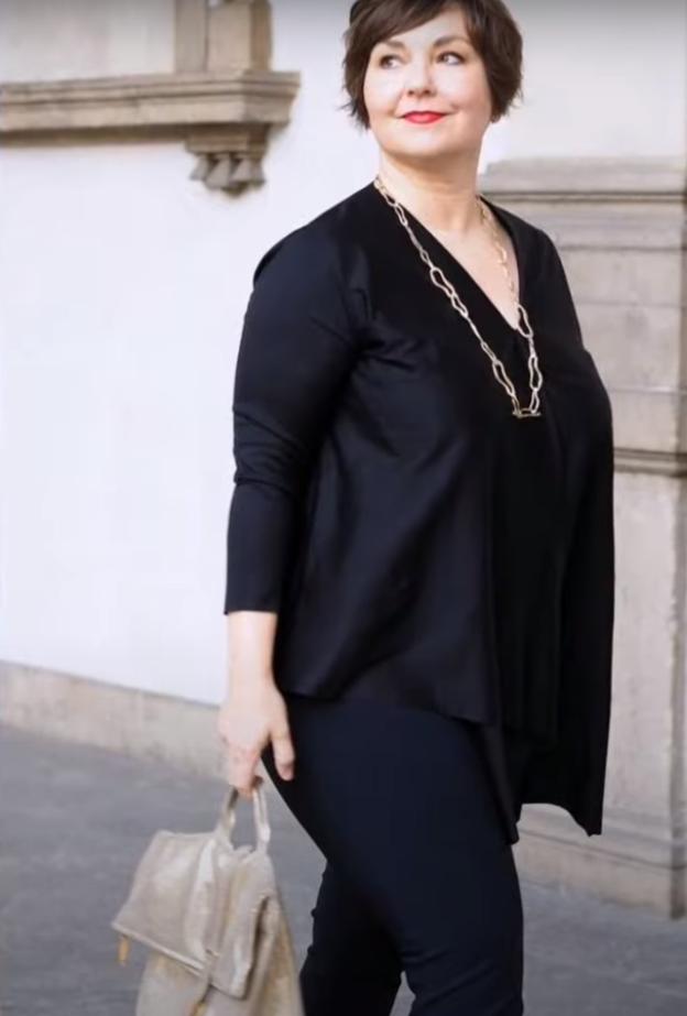 Мода для полных женщин на весну 2021 + видео с примерами.