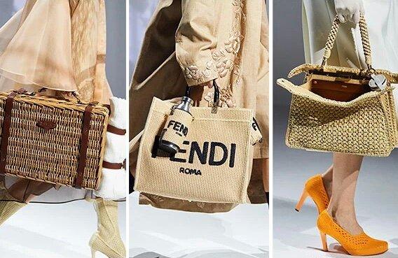Плетенные сумки Fendi