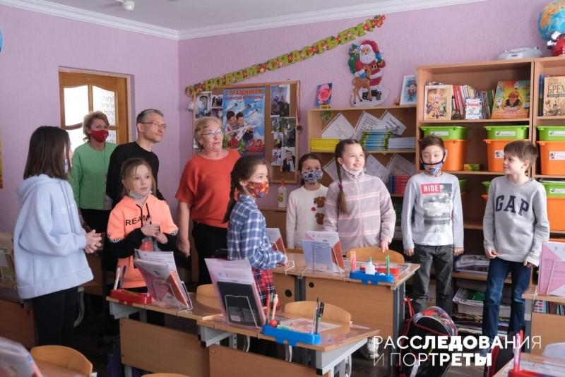 А так - с детьми. Фото: Александра Яговкина @ Расследования и портреты