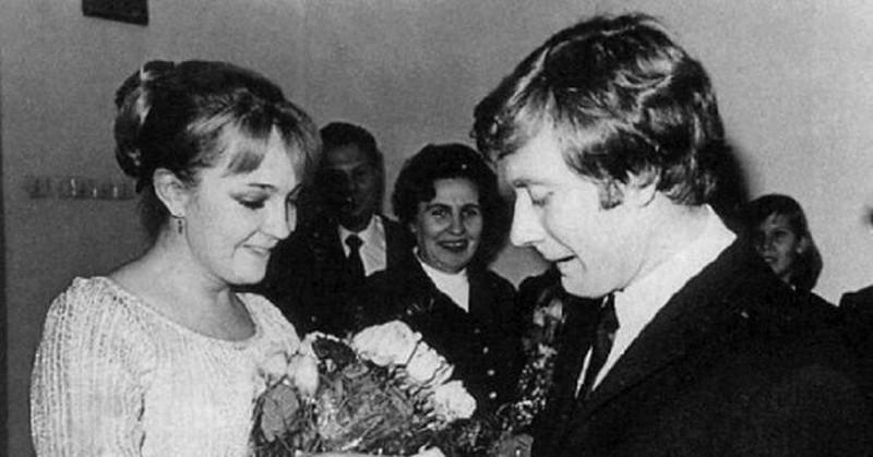 Первая жена Андрея Миронова - Екатерина Градова