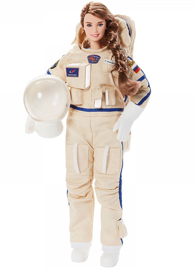 Единственная в России Женщина-Космонавт Анна Кикина, вдохновляет уникальную куклу Барби.