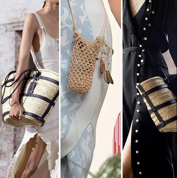 Плетенные сумки Altuzarra и HP5 весна-лето 2021