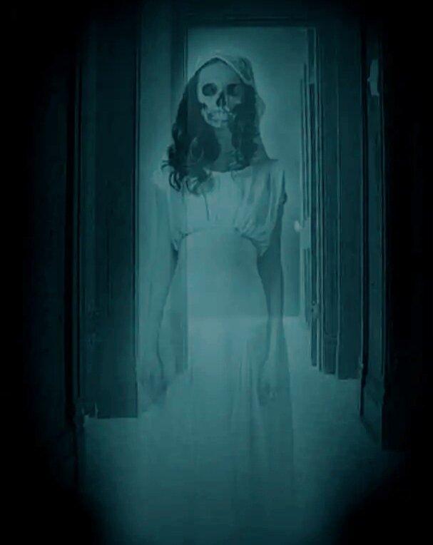 Два привидения или жуткая история беременной женщины.