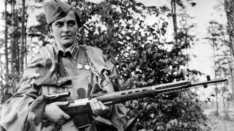 Людмила Павличенко: самая опасная женщина-снайпер в истории :