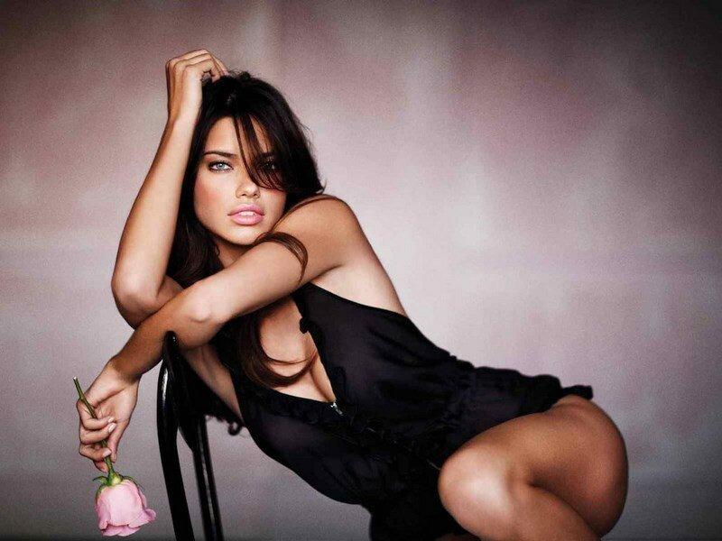 Адриана Лима, бразильская супермодель, ангел Victoria's Secret