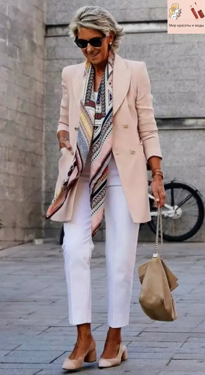 Изумительные элементы весеннего гардероба для дам от 50+: красота и стиль каждой леди 2021!