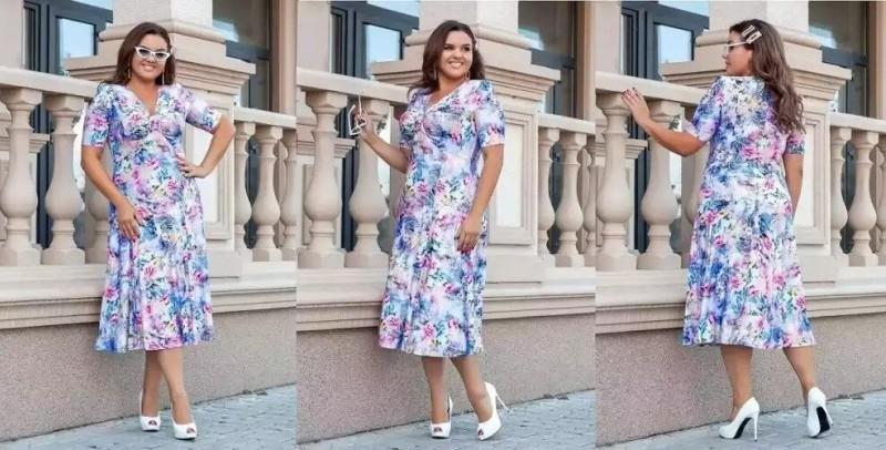 Большая Дамочка шикарные платья до 84 размера