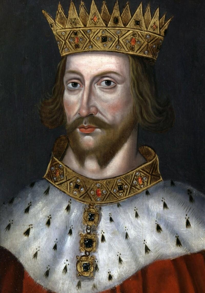 Король Англии Генрих Анжуйский. Муж Аэлеоноры