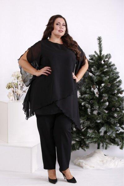 Большая Дамочка женские брюки и  туники до 84 размера