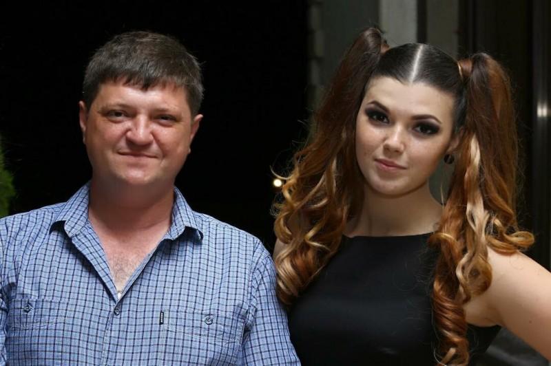 Муж и дочь Ольги Картунковой