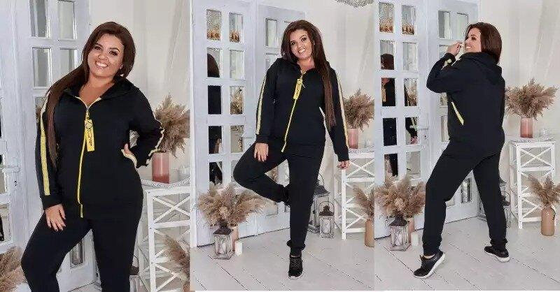 Большая Дамочка женские спортивные костюмы до 76 размера с доставкой по России
