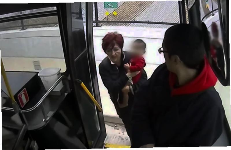 Женщина с ребенком показалась странным водителю автобуса, но когда он присмотрелся, то сразу же вызвал полицию