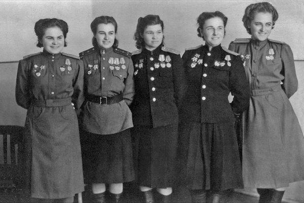 Русские женщины, которых боялись фашисты