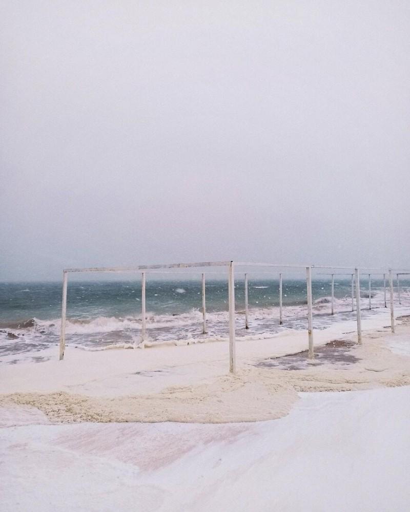 Кучугуры - поселок на берегу Азовского моря не земной красоты.