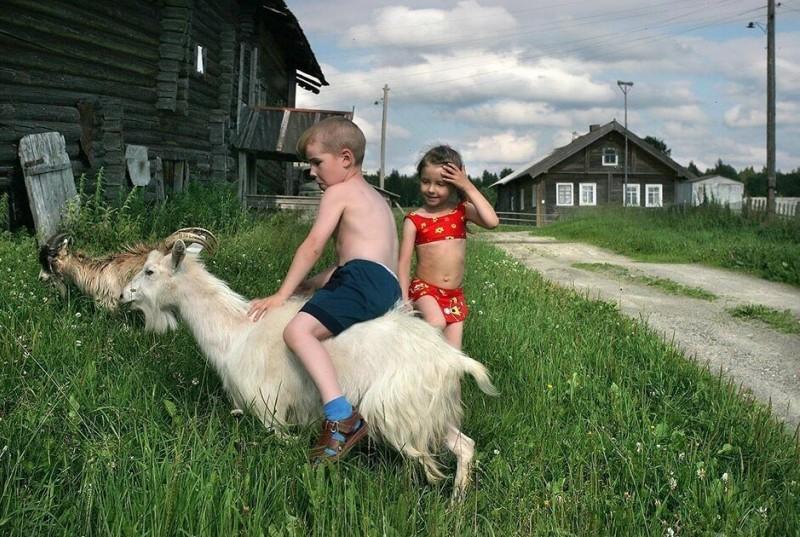 Красота и ужасы жизни на селе, в деревне