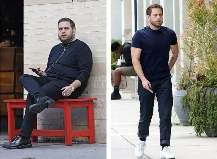 Кардинальные изменения, похудел ради девушки на 50 кг и сменил имидж: Как сейчас выглядит актёр Джона Хилл