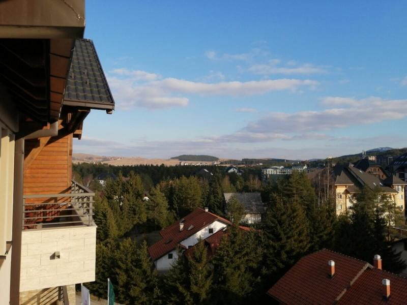 Вид на город с 5 этажа