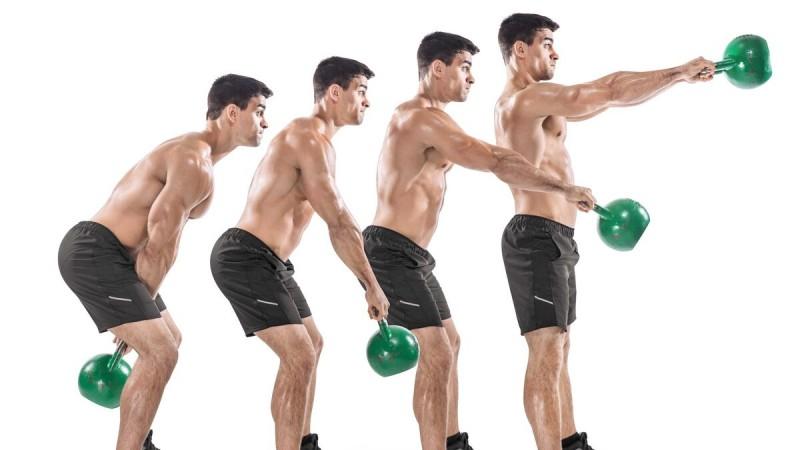 1 универсальное упражнение с гирей от силачей прошлого, которое помогает подкачаться, похудеть и улучшить выносливость