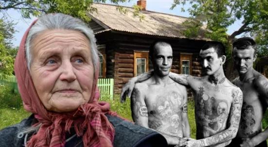 Пожилая женщина согрела беглого зека на своей даче. Придя через 7 дней, удивилась, когда заметила, во что он обратил её домик.