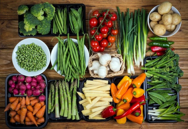Важно разнообразие овощей