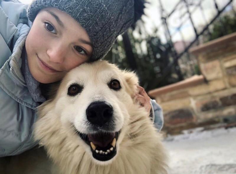 Без макияжа Аня совсем девчонка. Фото взято из Инстаграмма.