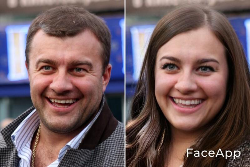 Фотошоп на тему: Из мужчины в женщину. Давайте посмотрим, какие женщины вышли бы из знаменитых мужчин