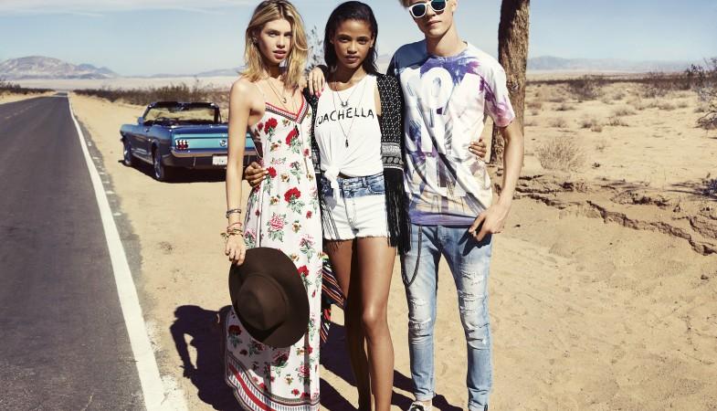 Lookbook капсульной коллекции H&M для фестиваля Coachella